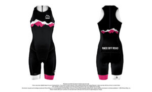 Race Off Road Sleeveless Trisuit